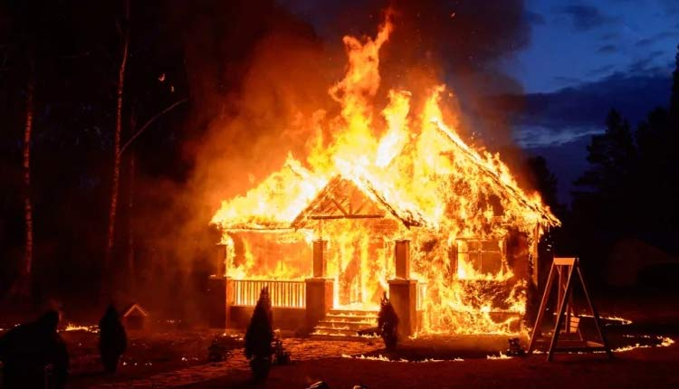 the fire which burnt inzaar